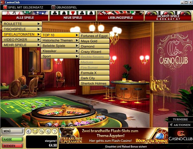 casino club freispiele januar
