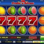 Der Fruits'n Sevens Geldspielautomat