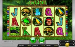 Amazonia Geldspielautomat
