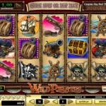 20 Freispiele für den Geldspielautomat Wild Pirates