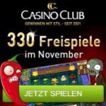 330 November Freispiele ohne Einzahlung im Casino Club