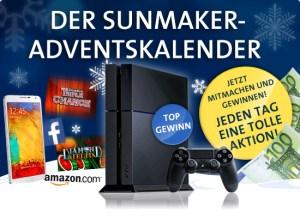 Der grosse Adventskalender im Online Casino von Sunmaker