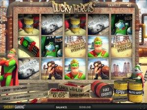 Der Geldspielautomat Lucky Heroes
