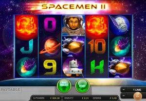 Geldspielautomat Spaceman 2