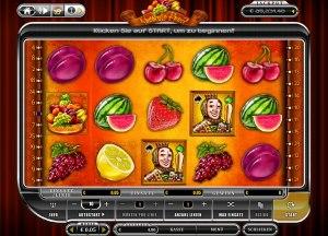 Der Geldspielautomat Absolute Fruit