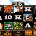 Der Spielautomat Cowboys and Aliens