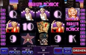 Der Geldspielautomat Marilyn Monroe