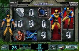 Der Geldspielautomat Wolverine
