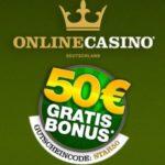 50 Euro Gutschein im Deutschen Online Casino