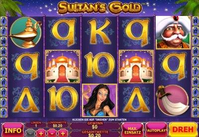 Der Geldspielautomat Sultans Gold