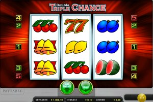 Double Triple Chance Geldspielautomat