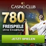 780 Freispiele ohne Einzahlung im Casino Club
