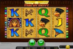 Der Slot Fire of Egypt ist endlich Online