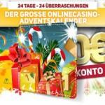 Das Online Casino Europa im Weihnachtszauber!